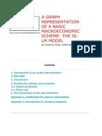 A Graph Representation of a Basic Macro-Economic Scheme-The is-LS Model-V Piana
