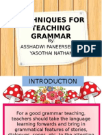 Techniques for Teaching Grammar