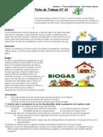 Hoja de trabajo Biocombustibles
