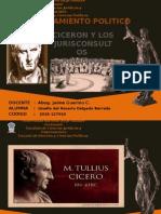 Diapostivas Ciceron y Jurisconsultos