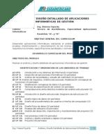 Analisis y Diseño de aplicaciones