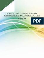 Configuración Radio Enlace U2000 Huawei