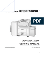 Ricoh FT-7950 Service Manual