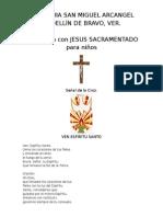 HORA SANTA CON JESUS SACAMENTADO NIÑOS.docx