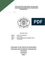 Implementasi Balance Scorecard Untuk Pengukuran Kinerja PadaOrganisasi Pemerintah