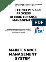 BasicConcepts&ProcessesOfRoadAndBridgeMaintenance