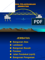 Metode Pelaksanaan Konstruksi Jembatan