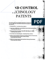 MIND CONTROL Technology Patents