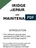 Bridge Repair Maintenance