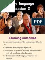 Body language session 2