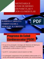 Medición de Riesgo Cardiovascular y Filtración Glomerular
