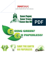 go green PAMPLET