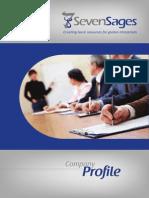 SevenSages Training Profile