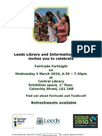 Leeds Library and Information Service Invites You