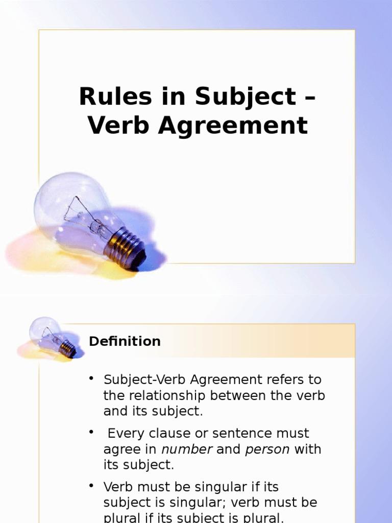 Sva Lesson Grammatical Number Subject Grammar