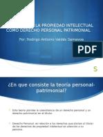 Presentacion Derecho Personal Patrimonial IPP