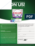 Cascade Platinum Rebate Form