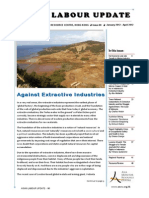 Against Extractive Industries - Issue of the Asian Labour Update