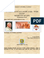 "Angello Roncalli Pope XXIII - ""Pope good"" - Moments of Life - Multimedia Documentary Essay / 2011"