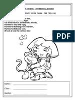 226731 Pre-primary - Holiday Homework