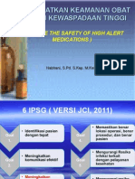 3 Meningkatkan Keamanan Obat Dengan Kewaspadaan Tinggi