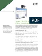 Factsheet SMART Board 600 Dual touch ENG