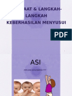 Presentasi Penyuluhan Manfaat ASI