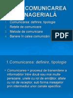 comunicare manageriala