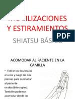 Movilizaciones y Estiramientos Para Shiatsu Basico