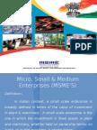Micro, Small & Medium Enterprises (MSME'S