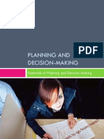 Part 2 - Planning & Decision Making