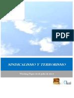 SINDICALISMO Y TERRORISMO