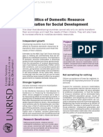social developmemnt - PDRM