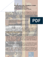 Fenomenología de Hgel Como Bildungsroman