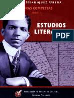 Henríquez Ureña, Pedro. Obra completa II. Estudios literarios