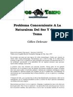 Deleuze, Gilles - La Naturaleza Del Ser