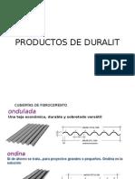 Productos de Duralit