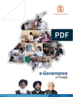 E-Governance in Punjab