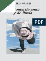 Sergi Pamies - Canciones De Amor Y De Lluvia (Trad)