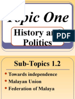 MALAYSIAN STUDIES The Struggle for Independence