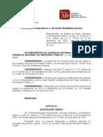 Resolução Conjunta CNJ-CNMP 4-2014