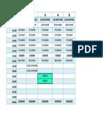 Calendario Imanol