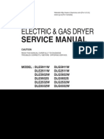 LG Electric and Gas Dryer Service Manual