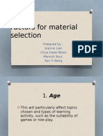 Factors for material selection.pptx