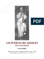 Las Puertas Del Silencio (Dirección Espiritual) [Por Un Monje - Trad. Cartuja de Porta Coeli'2002]