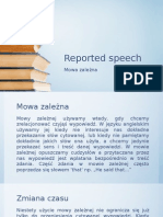 Reported Speech