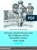 Britain Soviet Russia and the Collapse of the Versailles Order 1919-1939