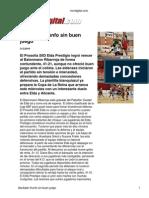 Vivir Digital Cronica Del Partido Contra Ribarroja 20 02 2010