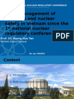 State Management of Radiation and Nuclear Safety