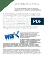 Lo Que Todo El Mundo Necesita Saber Acerca De Diseño De Páginas Web